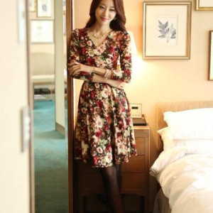 Những mẫu váy thu đông đẹp 2013
