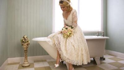 Váy cưới vintage - guu đơn giản và quý phái