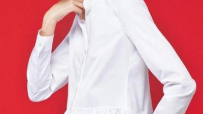 Vẻ đẹp thanh nhã bất tử của guu áo sơ mi trắng