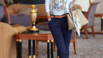 Cách mix đồ với quần công sở Hàn Quốc trẻ trung lại hợp Guu thời trang