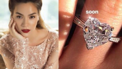 """Hồ Ngọc Hà bức xúc đáp trả khi bị cho rằng mượn ảnh đeo nhẫn kim cương để """"sống ảo"""""""