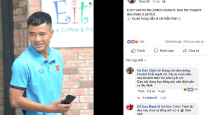 Cứ tưởng đăng status tiếng Anh sẽ được nhiều like, cuối cùng ai cũng nghĩ Đức Chinh đang... bị hack Facebook