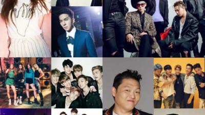"""YG là ông vua nhạc số, SM giữ ngôi vương album, nhưng vẫn có những cái tên """"cầm quyền"""" được tất cả"""