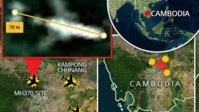 MH370 rơi ở khu vực Tam giác quỷ Bermuda mới?