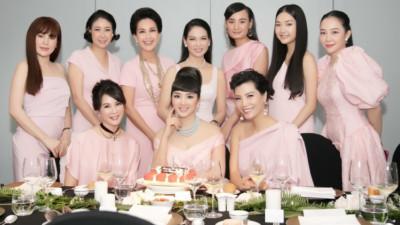 """Dàn mỹ nhân U50 hội ngộ, khoe nhan sắc """"đẹp bất chấp thời gian"""" trong sinh nhật tròn 47 tuổi của Hoa hậu Giáng My"""