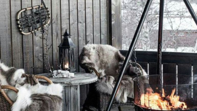 12 góc thư giãn vào mùa đông đẹp mê mẩn giúp xua tan đi cảm giác lạnh giá