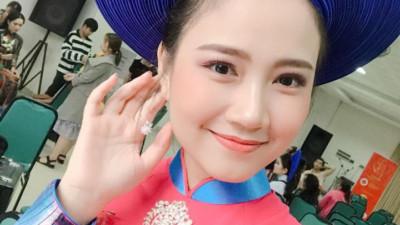 """Nhan sắc đời thường """"được lòng tất cả các chàng trai"""" của tân Hoa khôi Sinh viên Việt Nam 2018"""