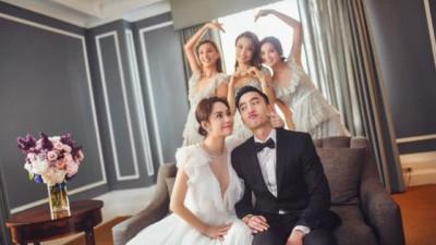 Sau tất cả, hôm nay Chung Hân Đồng cuối cùng đã chính thức đăng ký kết hôn