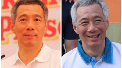 """Thủ tướng Singapore Lý Hiển Long cũng tham gia """"Thử thách 10 năm"""" với dòng caption đầy hài hước"""