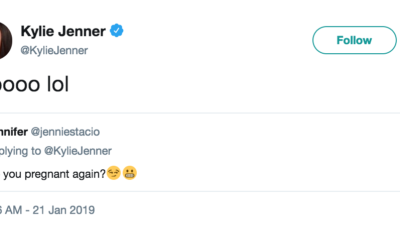 Fan xôn xao đồn thổi Kylie Jenner đã có thai lần 2 và đây là câu trả lời của cô nàng!