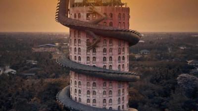 Thoạt nhìn cứ tưởng bối cảnh phim Hollywood nhưng hoá ra ngôi chùa này ở Thái lại hoàn toàn có thật!