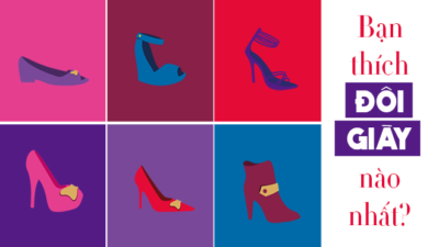 Chọn một đôi giày sẽ tiết lộ bạn thuộc kiểu người như thế nào khi yêu?
