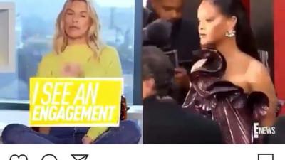 Rihanna ngầm thừa nhận sắp đính hôn và có ý định sinh quý tử cho bạn trai tỷ phú qua động thái này?
