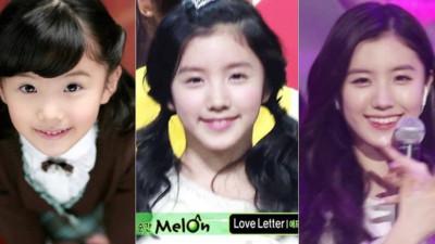 Hành trình 11 năm nhan sắc gây sốt của nữ idol sinh năm 2000: Sao nhí làm nền cho đàn chị đến mỹ nhân đẹp xuất chúng