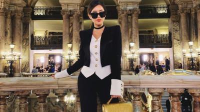 """Rich kid Thảo Tiên vừa lên đồ """"chất ngất"""" đã lọt ngay vào top street style đẹp nhất Paris Fashion Week"""