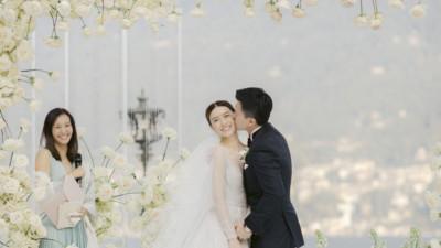 """Váy cưới của Văn Vịnh San trong hôn lễ với chồng đại gia: chiếc lộng lẫy xa hoa, chiếc """"siêu to khổng lồ"""" với mức giá trên trời gây choáng"""