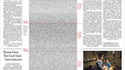 1000, 100.000, rồi nửa triệu: 2 trang nhất gây ám ảnh cả thế giới của New York Times về hiện thực đau đớn Covid-19 mang lại
