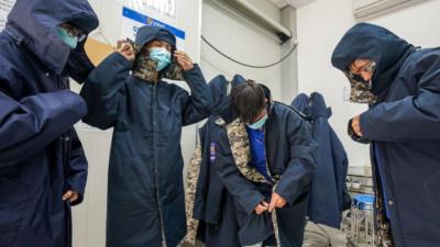 Cảnh chuyển vaccine Covid-19 từ TP.HCM đến Hà Nội và Hải Dương