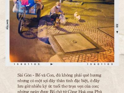 """Thư gửi bố từ tâm dịch Sài Gòn: """"Nơi đây đã là nhà của con, và con sẽ vẫn thuỷ chung, sẽ hết mình với thành phố này chừng nào con còn thở"""""""