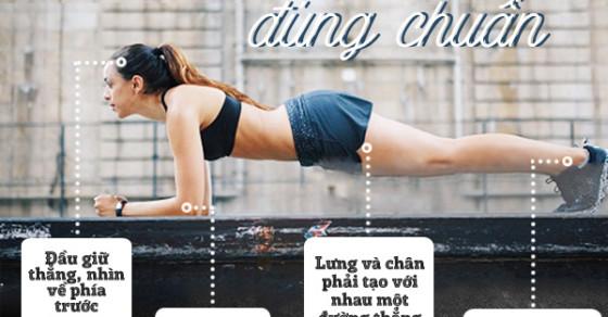 """30 ngày tập Plank cho vòng eo sexy """"chết người"""""""