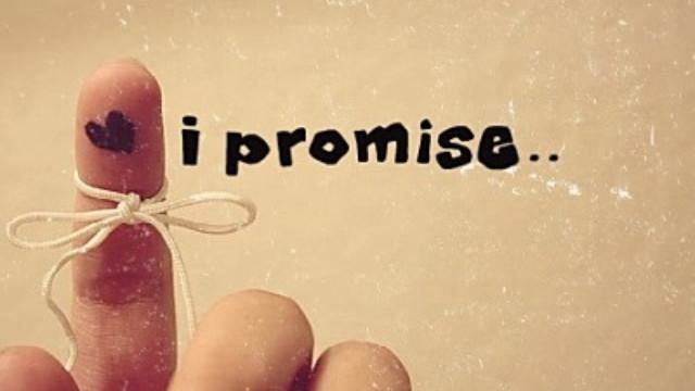 Kết quả hình ảnh cho lời hứa